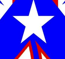The Puerto Rican Shamrock Sticker