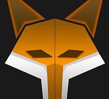 JordanTheFox- Fox Head by TheFoxFromHell