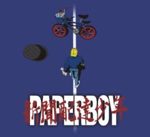 Paperboy by Crocktees