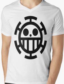 Law's Jolly Roger Mens V-Neck T-Shirt