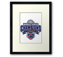 Chicago Cubs World Series Framed Print