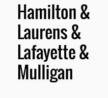 Hamilton Squad - White Unisex T-Shirt
