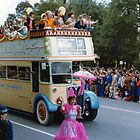 No.4, Pageant Transport 1980's Adelaide Christmas Pageant by Heather Dart