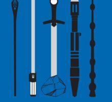 Choose Wisely Fandom Weapons Sticker