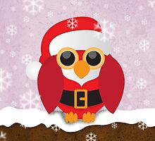 Christmas Owl by berkup