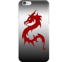 Red Oriental Dragon iPhone Case iPhone Case/Skin