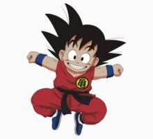 Young Goku by kazkami