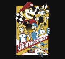 Lightning Cup Nights: The Fast & the Fungus by jangosnow