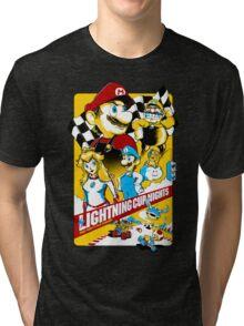 Lightning Cup Nights: The Fast & the Fungus Tri-blend T-Shirt