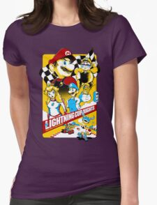 Lightning Cup Nights: The Fast & the Fungus Womens Fitted T-Shirt