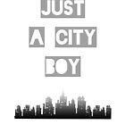 Just a City Boy by angeliana