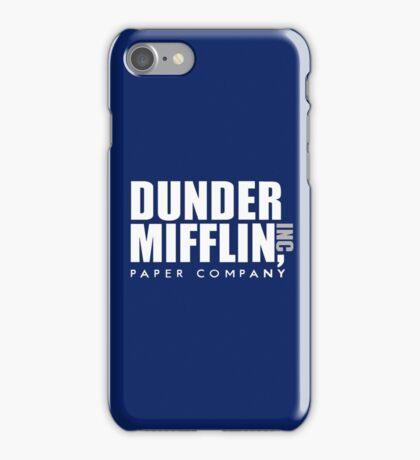 Dunder Mifflin Logo iPhone Case/Skin