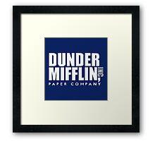 Dunder Mifflin Logo Framed Print