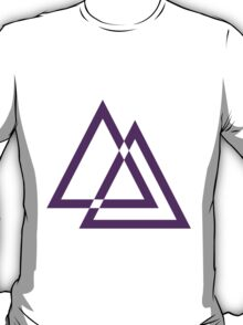 Cool Hipster Triangle Design T-Shirt