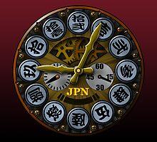 JPN clock by kuuma