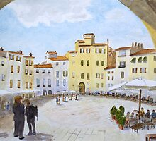 Lucca by John Rees by HurstPainters
