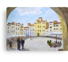 Lucca by John Rees Canvas Print