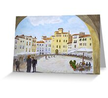 Lucca by John Rees Greeting Card