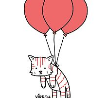 Stripped Kitty Kat by Pepsvirgo
