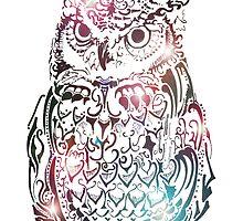 Funky Owl by Lisa Pike