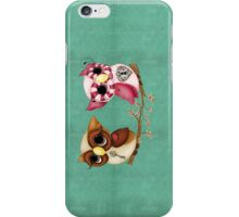 So In Love Hooties - Valentines Owl Art iPhone Case/Skin