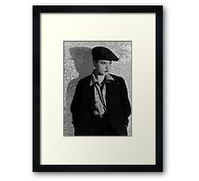 The Louise Brooks Tattoo Framed Print