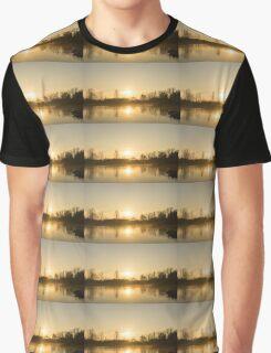 Golden Mist and Ripples - Enjoying One Fine Daybreak  Graphic T-Shirt