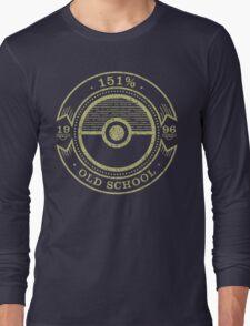 151% Old School Long Sleeve T-Shirt