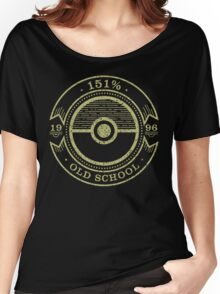 151% Old School Women's Relaxed Fit T-Shirt