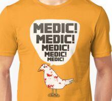 TF2 pigeon - MEDIC! Unisex T-Shirt