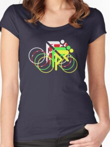Riders Tour de France Jerseys  Women's Fitted Scoop T-Shirt