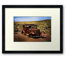 Stripped Down and Out Framed Print