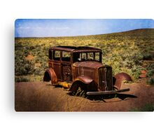 Stripped Down and Out Canvas Print