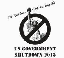 NEW YORK USA GOVERNMENT SHUTDOWN 2013 by kathycee