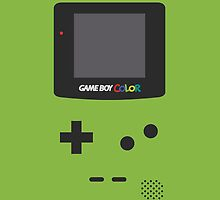 Gameboy Colour by Declan Black