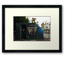 Walter White in Manchester Framed Print