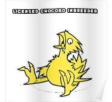 Licensed Chocobo Inbreeder Poster