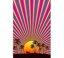 Sunshine Reggae Photographic Print