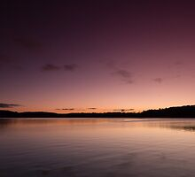 Lake Lanier Sunrise I by Bernd F. Laeschke