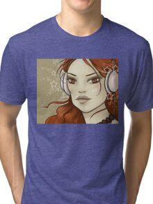 Star Music Tri-blend T-Shirt
