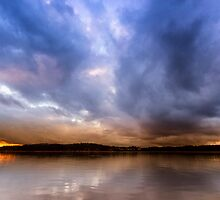 Lake Lanier Sunset III by Bernd F. Laeschke