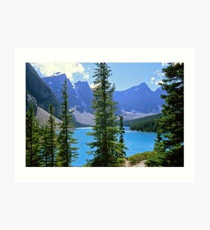 Moraine Lake, Alberta Art Print