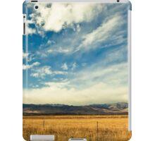 Open Mountain Sky iPad Case/Skin