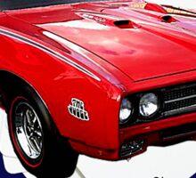 Pontiac GTO Drive It Like You Stole It Sticker