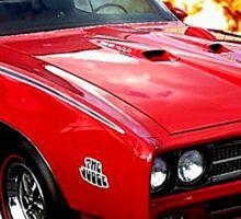 Pontiac GTO Road Warrior Sticker