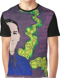 HP LOVECRAFT, AMERICAN GOTHIC WRITER Graphic T-Shirt