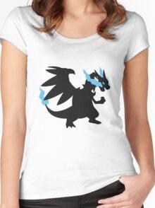 Mega Charizard X Women's Fitted Scoop T-Shirt