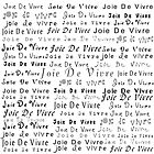 French Joie De Vivre Various Fonts by gailg1957