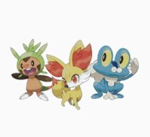 Pokemon X and Y Starters  by PleaseBuy