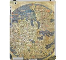 fra mauro medieval map iPad Case/Skin